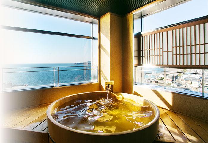 最上階 展望風呂